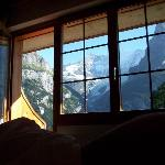 view from bed!
