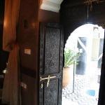 courtyard door