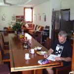 The breakfast room/lounge