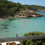 The smaller bay in Portinatx, Ideal for young children...