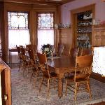 Dinning room in the house