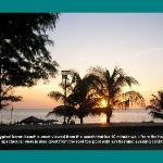 typical karon beach sunset