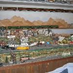Train set inside Depot Room