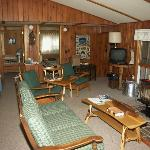 Interior of cabin