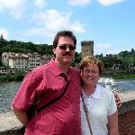 The Ridenour's at Arno River