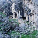 More rock tombs