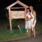 Toga night in Negril
