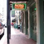 Outside Acme's