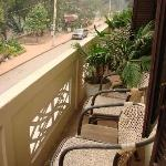 Room 5, Apsara, balcony