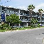 Park Place Motel Cedar Key from waterfront street