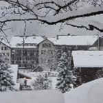 Hotel in the snow