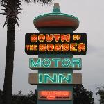 Motor Inn Entrance/Registration