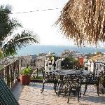 view of Puerto Vallarta from patio deck