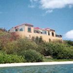 Villa Looking Up from Reef