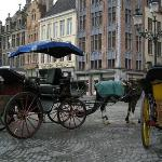 Carriages in the Market