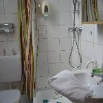 The super small bathroom!