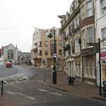 Hotel looking towards Town Bridge
