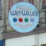 Wet Willies sign!
