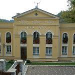 Front of Pension Villa Rosa