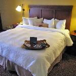 Room 439 very comfortable king bed