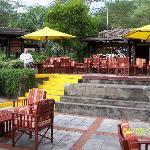 Patio at Sarova Lion Hill Game Lodge in Lake Nakuru