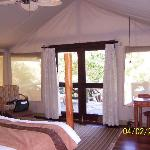 Inside of Tent #65 at Sarova Mara Game Camp