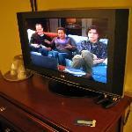 Room 126 LG LCD high-def TV