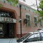 Main Door Hotel Harom Gunar