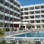 Pool area (the sunny side)