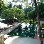 Komaneka Resort swimming pool