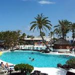 AThe main pool at the Lanzarote Gardens
