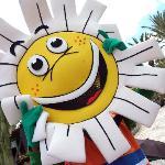 Hello Daisy! The Hotels's mascot