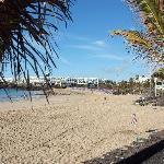 A sunny Teguise Beach