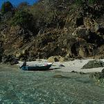 The smallest and best beach in BVI