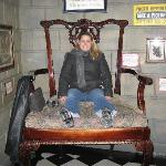 A really big chair