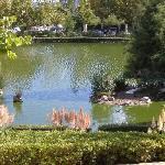 victorian park short walk away