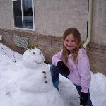 Comfort Inn Snow Man 2007 a