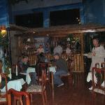 Villa Verde's dining area