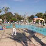 L'Amadil Beach côté piscine