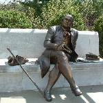 Seated Statue of George Mason