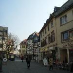 Street nearby the Romer Hotel