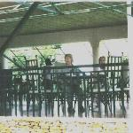 Dining al fresco at Soroti Hotel