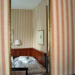 Room seen in mirror