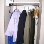 Closet Area w/Iron