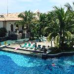 Pool from near bfast area