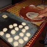 Preparacion de los fantasticos crepes marroquies