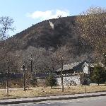 Not the Great Wall: but the exterior of the Mountain Resort