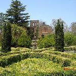 manor house and garden