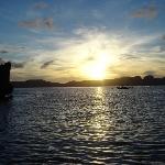 Sunset at El Nido