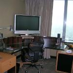 Room work/entertainment station
